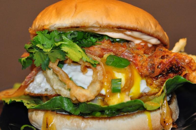 Kimchee Burger